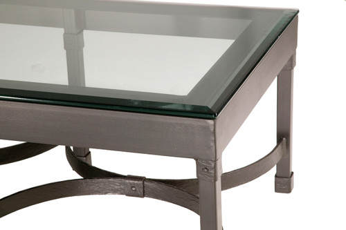 Huntington Iron Cocktail Coffee Table
