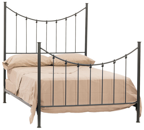 Rose Bud Wrought Iron Bed