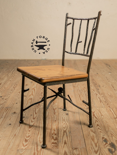 Evergreen Iron Side Chair