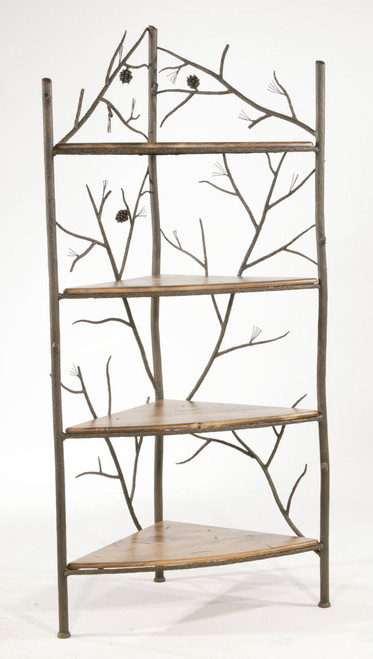 Evergreen Iron Corner Rack