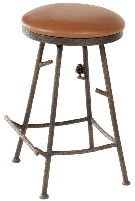 Evergreen Iron Stool (Basic)