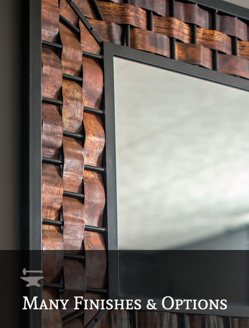 Westfork Iron Wall Mirror