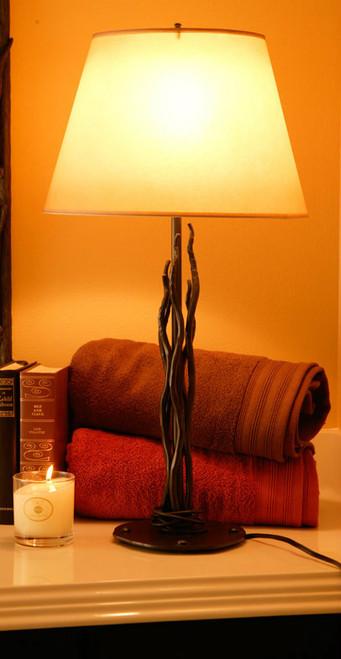 Black River Iron Table Lamp
