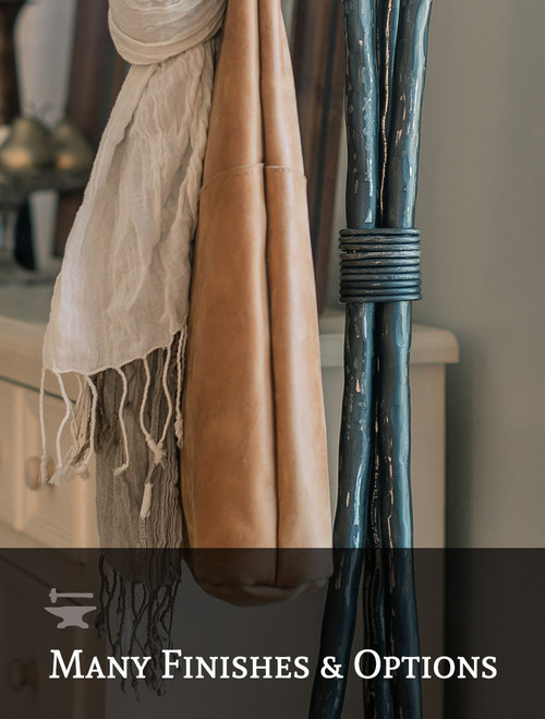 Meridian Series Standing Coat or Robe Rack