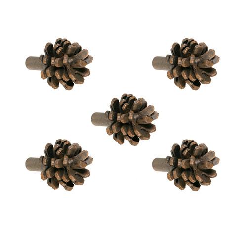 Evergreen Iron Drawer Knob- 5 Piece Set