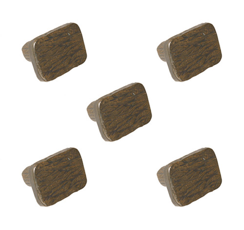 Huntington Iron Drawer Knob- 5 Piece Set