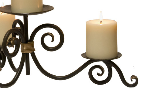 Whispering Springs Iron Candle Holder