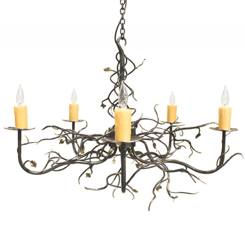 Violet Hill 5 Arm Chandelier