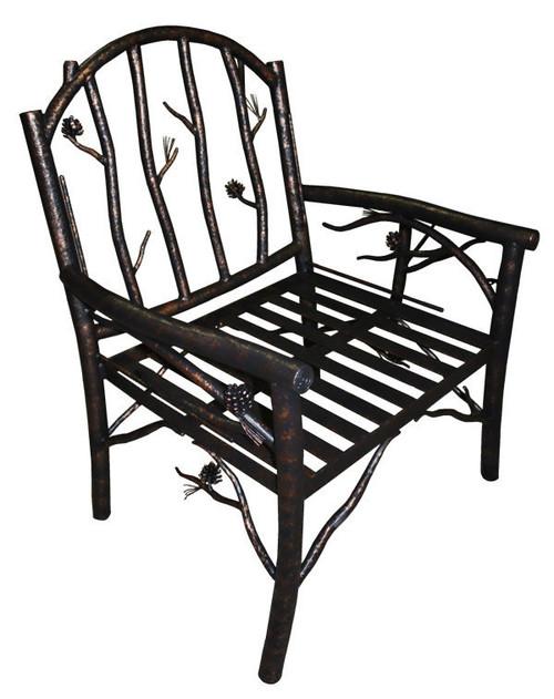 Custom Evergreen Side Chair