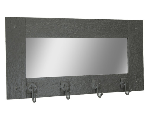 Huntington Wall Mirror Coat Rack