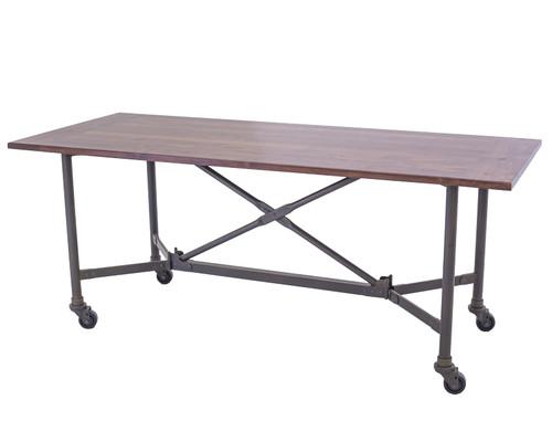 Railcar Folding Banquet Table