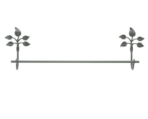 Fair Oak Iron Towel Bar 24""