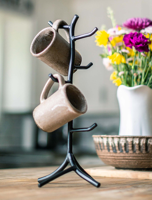 Sylamore Mug Tree Rack - 6 Mugs