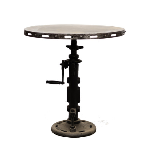 Mill Crank Adjustable Pub Table