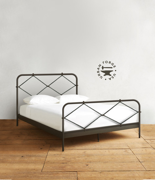 Twist Iron Bed