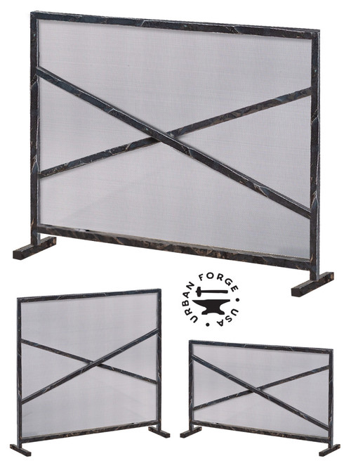 Custom Size Meridian Fire Screen
