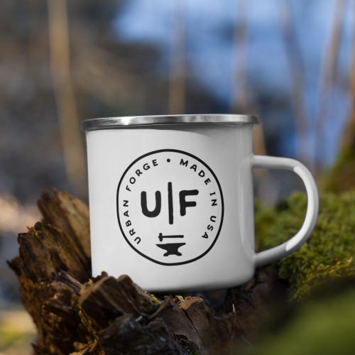 Urban Forge Seal Enamel Mug