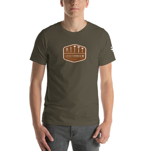 UF Tool Badge Rust Tee