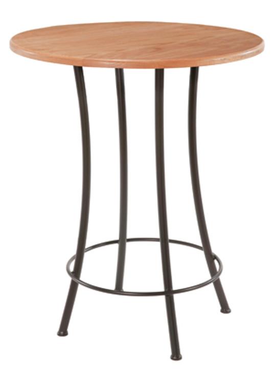 Cafe Iron Bar Table