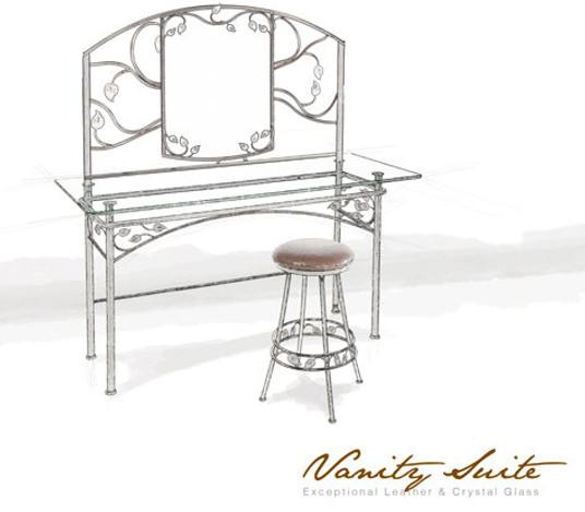 Custom Oak Grove Vanity Suite