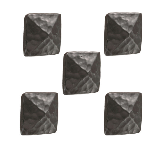 Blackwell Iron Drawer Knob- 5 Piece Set