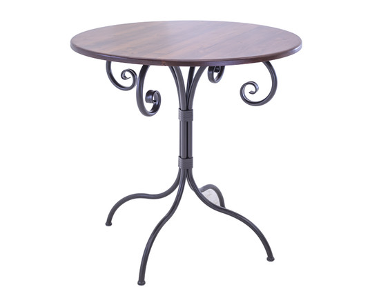 "Magnolia 25 Inch Folding Pub Table 40"" Height"