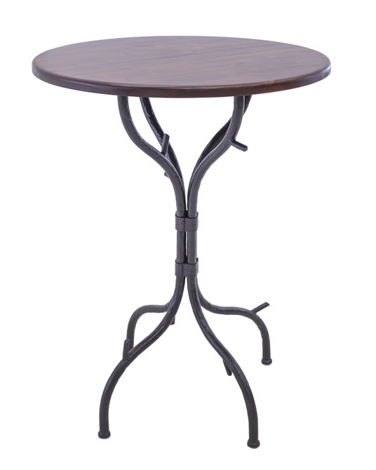 """Greenwood 25 Inch Folding Pub Table 36"""" Height"""