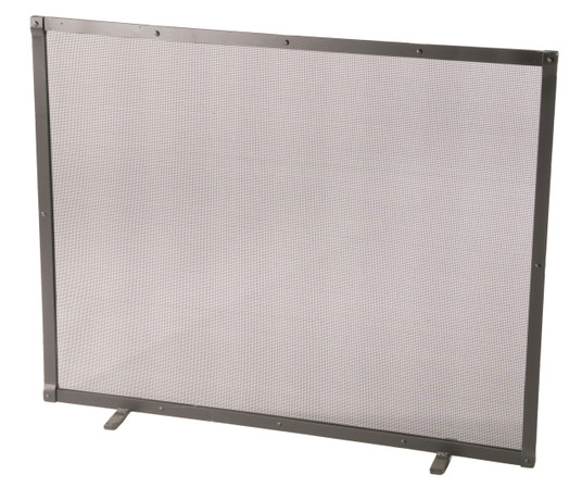 Fire Screen Full Faced Single Panel with Feet