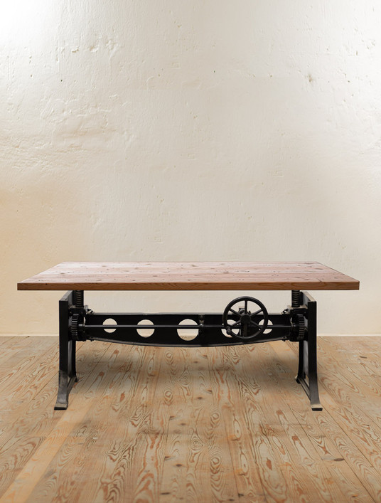 Progress Crank Adjustable Dining Table