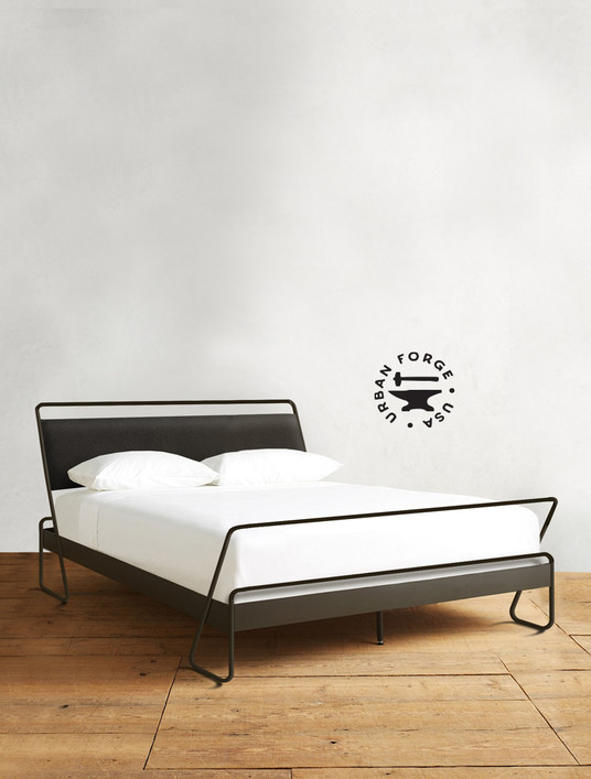 Alma Hand Forged Iron  Bed