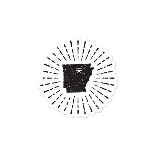 UF Arkansas Original Hammer Ringing Sticker