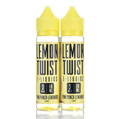 Lemon Twist E-Liquid Pink Punch Lemonade 60ml