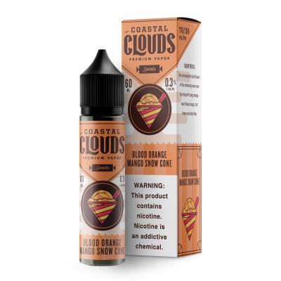 Coastal Clouds E-liquid Blood Orange Snow Cone 60mL