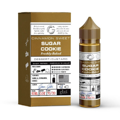 Glas Basix Series E-liquid Sugar Cookie 60mL