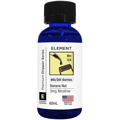 Element E-Liquid Banana Nut (60 Ml)