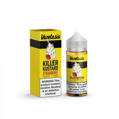 Vapetasia Killer Kustard Strawberry100ml