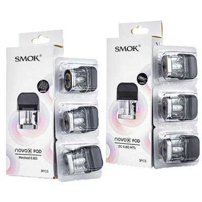 SMOK Novo X 3 Pack Replacement Pods
