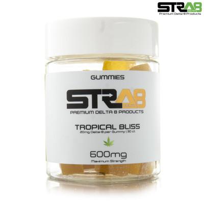 STRA8 Delta 8 Maximum Strength Gummies