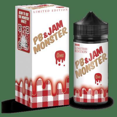 Strawberry PB & Jam Monster 100ml