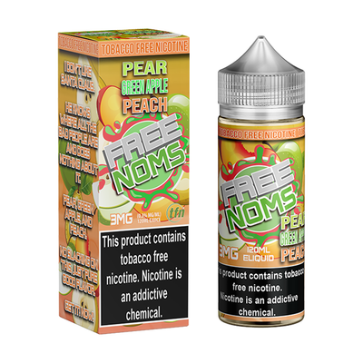 Free Noms Pear Green Apple Peach 120mL