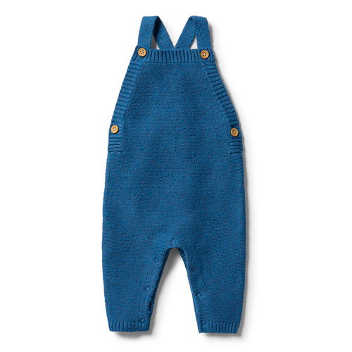 Wilson and Frenchy - Knitted Overall - Denim Fleck