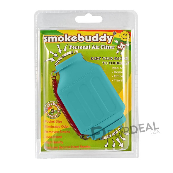 Smoke Buddy Junior Personal Air Filter (Color Teal)