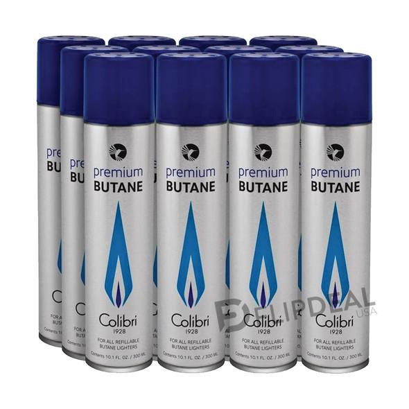 Colibri Premium Butane 300ml (12 Pack)