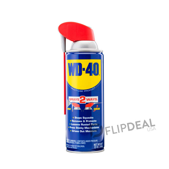 WD-40 Multi-Use Product with SMART STRAW SPRAYS 2 WAYS 12 oz.