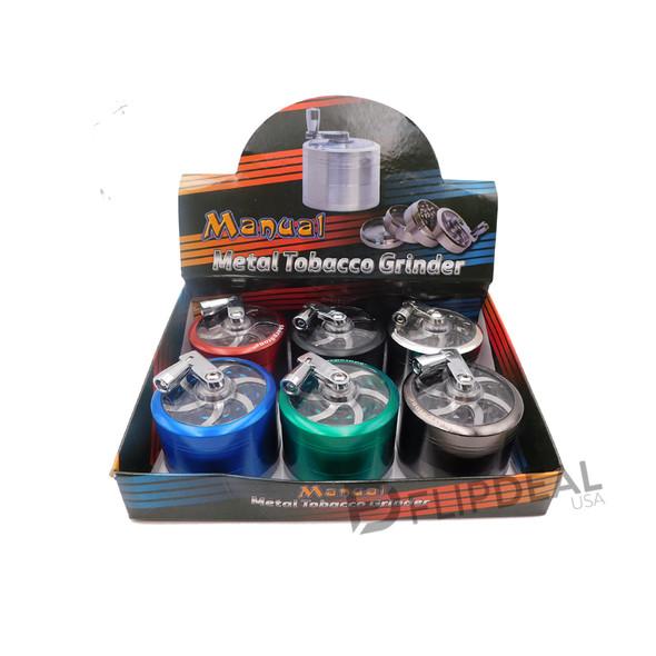 Crank Manual Metal Grinder