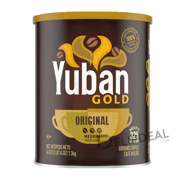 Yuban Gold Coffee Safe Can (Single Unit)