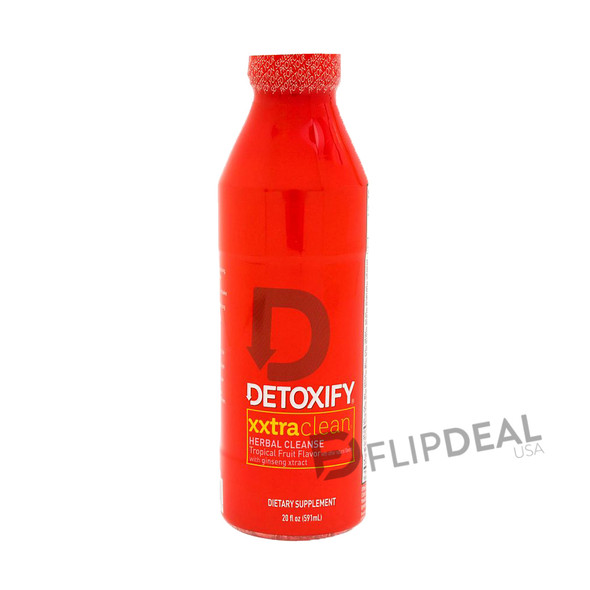 Detoxify XXXTRA Clean Herbal Cleanse Tropical Flavor