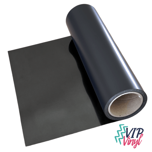 1 yard roll Black HTV - Heat Transfer Vinyl