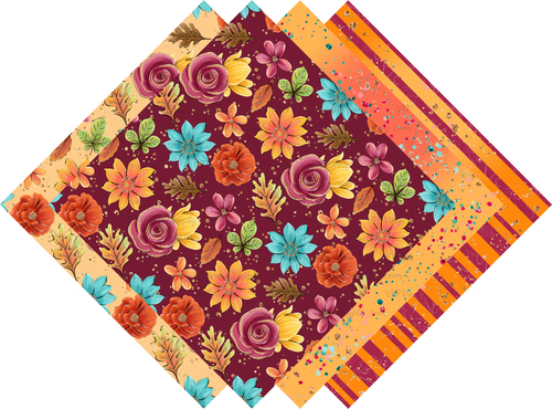 Fall Collection Pattern HTV Vinyl