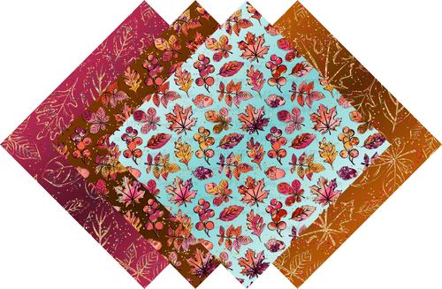 Fall Leaves Collection Pattern HTV Vinyl